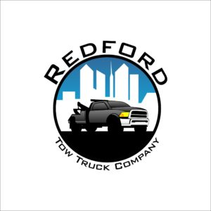 Redford Tow Truck Company Logo